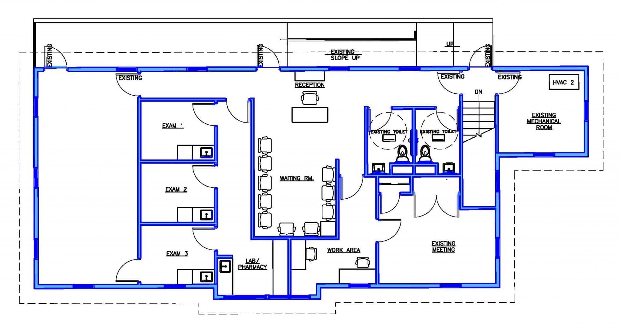 Previous floor plan.